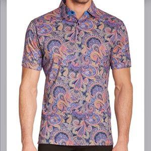ROBERT GRAHAM 100% Cotton Taboo Multi Color Shirt